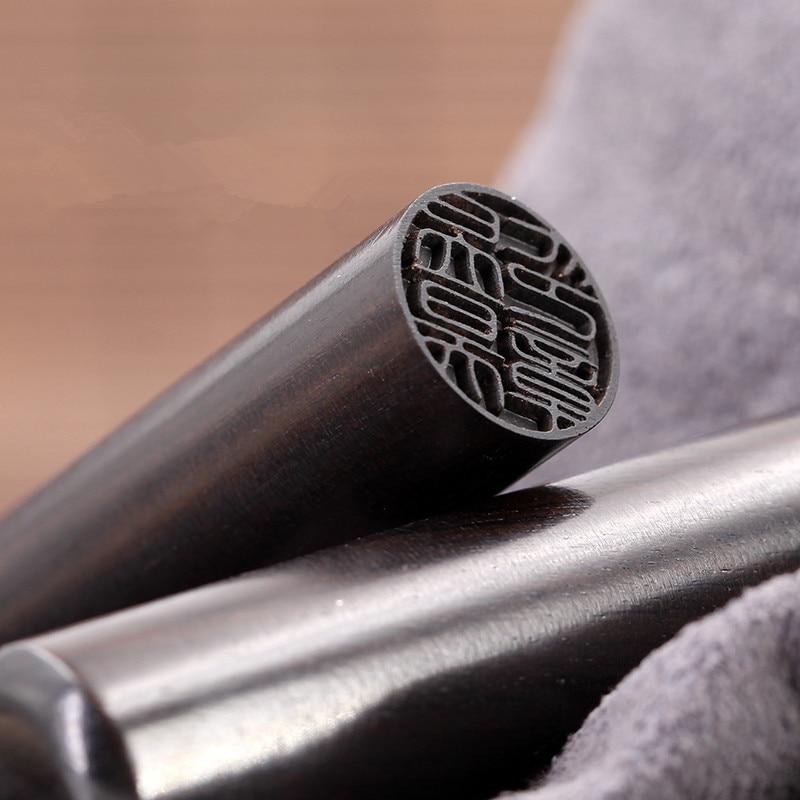 Free Carving Padauk Wooden Seal Calligraphy Round Seal Name Stamp Xian Zhang,Needle Carving