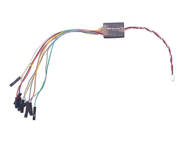 PWM para PPM PPM Encoder Encoder para Pixhawk CC3D Naze32 F3 MWC Pirata