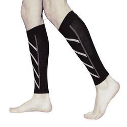 1 пара поддержка икр компрессионные, разной плотности штанины до колен носки для активного отдыха спортивная безопасность FDC99