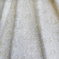 Free Shipping European And American Style New Composite Lace Fabric Upscale Fashion Gold Jacquard Fabric Soluble