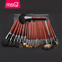 MSQ Pro 28pcs Makeup Brushes Set Powder Foundation Eye Shadow Makeup Brush Lip Blusher Cosmetics Tool