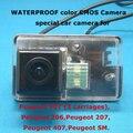 Цвет CMOS Камера Специально Для Peugeot 206,207, 307 (3 вагонов), 407, 307SM.