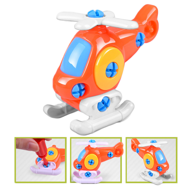 2018 Education Modelo Plane Toys Early Learning Puzzle Toys Airplane