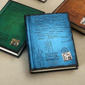 Image 1 - Vintage Hardcover Notebook Papier Persoonlijk Dagboek Journal Agenda Planner Retro Geschenken Kantoorbenodigdheden Kantoor School