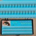 Pestañas 0.07 5D 2 lotes, Falso Falso Pestañas Extensiones pestañas Maquillaje Natural Pestañas Individuales Extensión 5 raíces