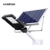 Newest 12W & 24W Remote Control solar flood light Highlight Waterproof Street Outdoor Wall Lamps