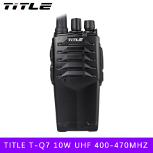 (1 PCS) two way radio BUXUN T-Q7 Drop the waterproof Hotel road Three 10w power proofing walkie talkie