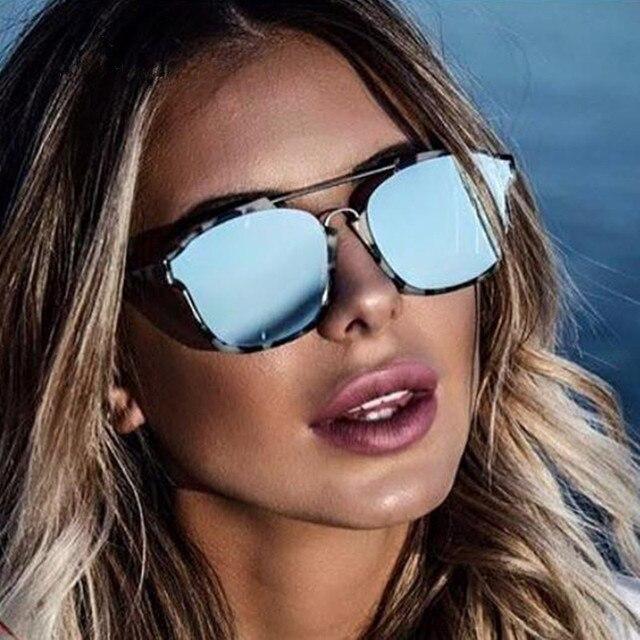 833dc36fc9 Brand Design Grade Sunglasses Women Mirror Sunglasses Points Sun Glasses  For Women Female Ladies Sunglass Vintage Retro Glasses