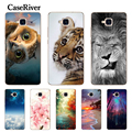 CaseRiver Huawei Honor 5C Case Cover Soft Silicone Honor 5C Russian Version No Fingerprint TPU Phone Case Huawei Honor 5C
