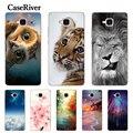 CaseRiver Huawei Honor 5C Case Cover Soft Silicone Honor 5C Russian Version No Fingerprint TPU Phone Case Huawei Honor 5C