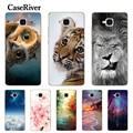 CaseRiver Huawei Honor 5C caso cubierta suave silicona Honor 5C versión rusa sin huella digital TPU teléfono caso Huawei Honor 5C