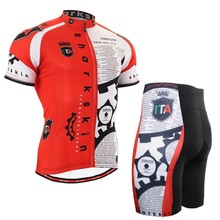 Summer Mens Cycling Clothings Sets Bike Breathable Fabric Team Cycling Jerseys Kits New Style Professional Sports Wear