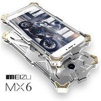 Simon Thor Ironman Body All Metal Aluminum Hard Rugged Phone Case For Meizu MX4 Pro MX5