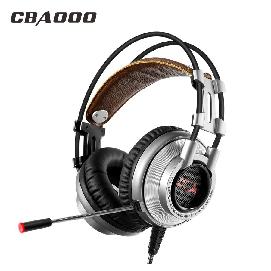 CBAOOO K9 Gaming Headphones wired Headphone Hi-Fi Subwoofer Stereo Headset with Microphone for PC хай хэт и контроллер для электронной ударной установки roland fd 9 hi hat controller pedal