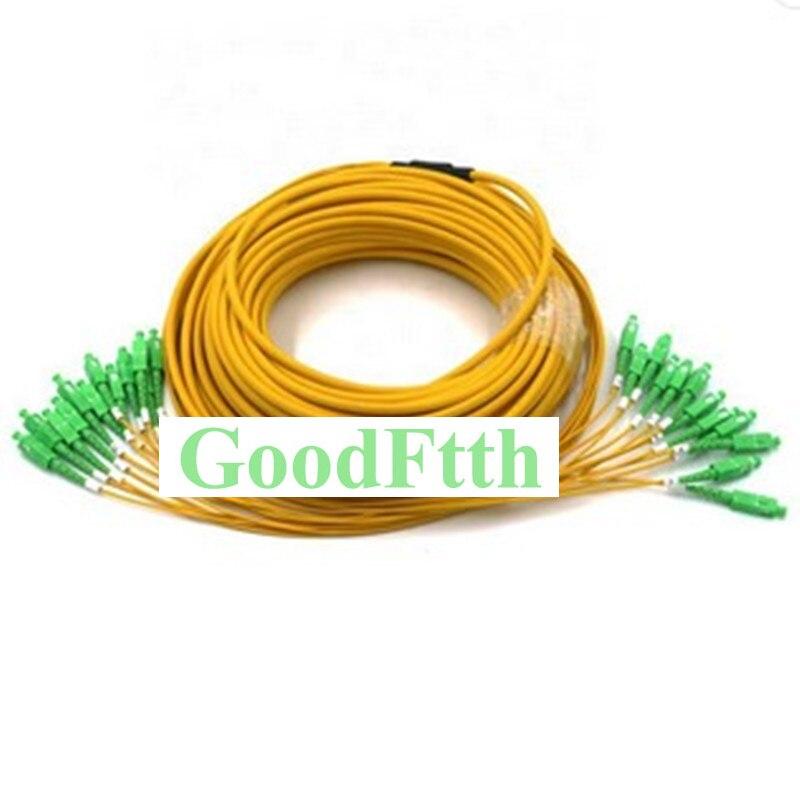 Fiber Patch Cord Cable SC-SC APC SM 12 Cores Trunk Breakout 2.0mm GoodFtth 100-500m