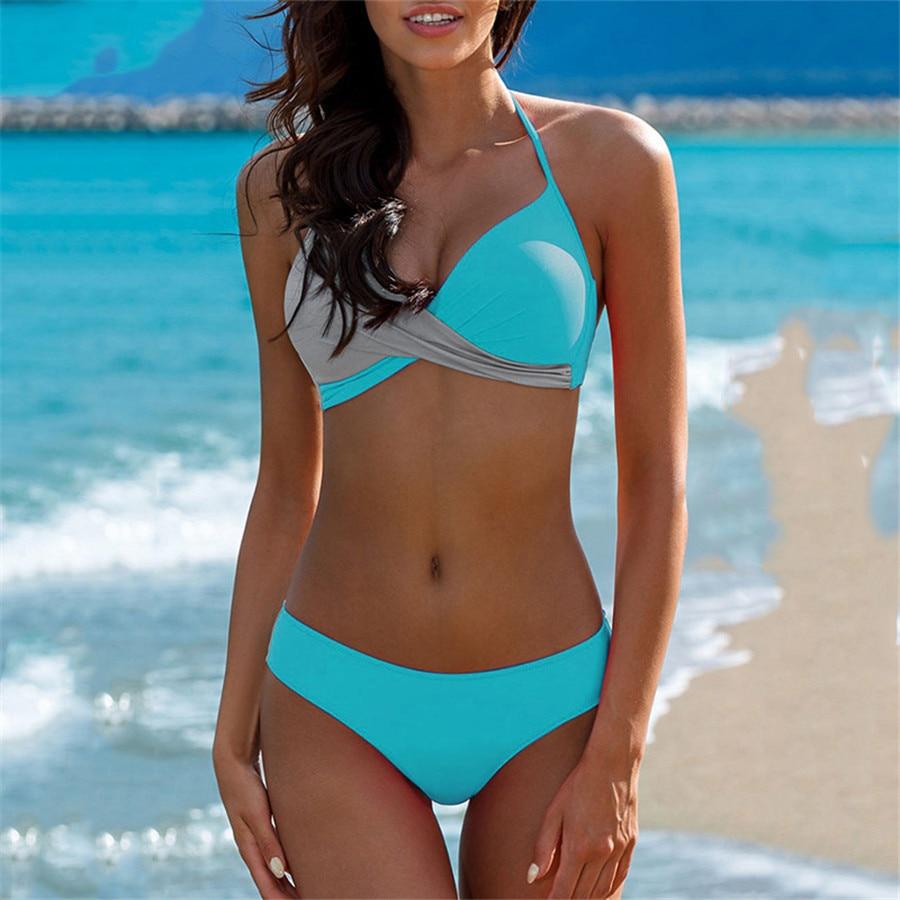 HTB1 cYJKeGSBuNjSspbq6AiipXaK Sexy Bikini Push Up Swimwear Women biquinis feminino 2018 mujer Swimsuit tanga Swimming Bathing Suit Plus Size Bikinis Set XXXL