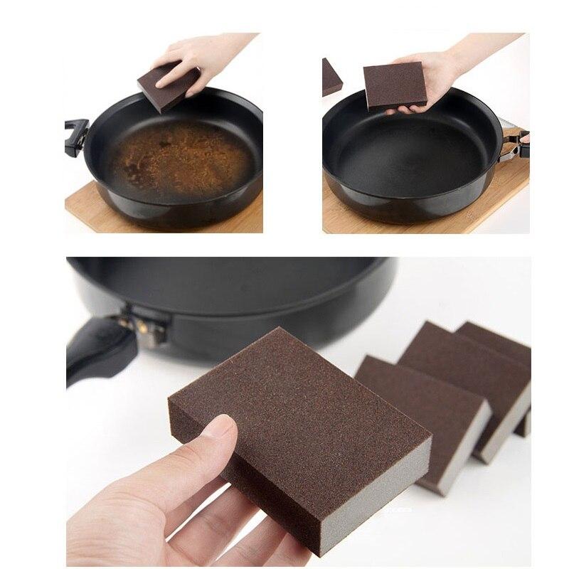 Nano Sponge Magic Eraser for Removing Rust cleaning cotton Emery sponge Melamine sponge kitchen supplies descaling Clean Rub pot
