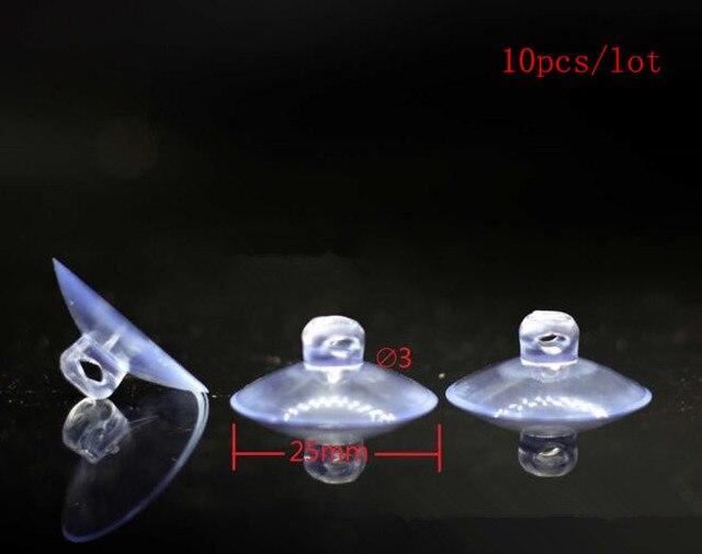 50 Stücke Klar Transparent Aufhänger Zimmer Küche Bad Saugnapf Sucker 20mm   Xg