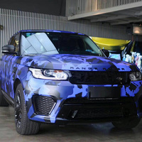 New Arrival Car Stickers Covers Styling Large Camo Camouflage Vinyl Film Sticker 3d Wrap Camouflage Film Automobiles