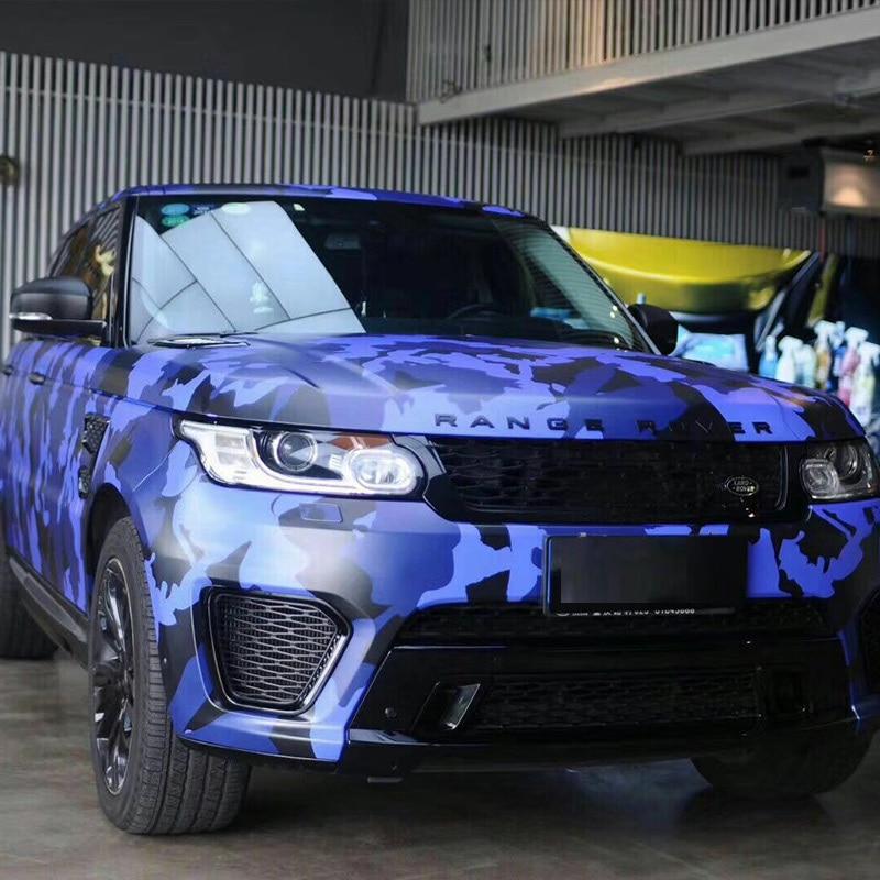 Nouveauté voiture autocollants couvre style grand Camouflage Camouflage vinyle Film autocollant 3d Wrap Camouflage Film Automobiles