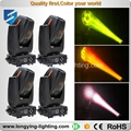 free shipping 4pcs/lot  2016 300w led moving head spot light  led moving head gobo light led stage light with flightcase