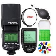 Godox TT685S TTL Camera Flash 2.4GHz High Speed 1/8000s GN60 + Xpro-S TTL Wireless Transmitter for Sony