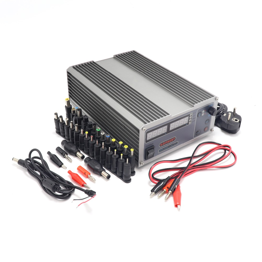 Mini cps 3220 DC Power Supply 37pcs head Banana clip wire EU UK US adapter OVP