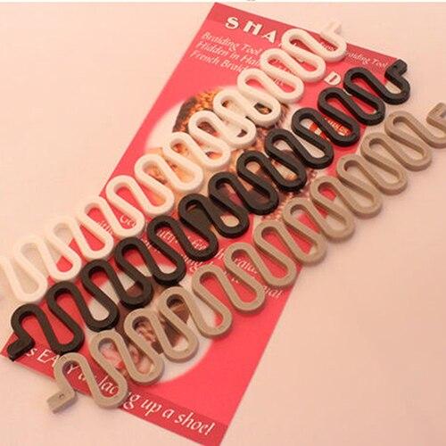 Women font b Hair b font font b Styling b font French Braiding Twist Bun Maker