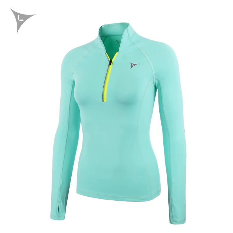 Women Yoga Shirts Long Sleeve Quick Dry Slim Zipper Running Jackets Sport Sweatshirt Compression Activewear Gym Fitness Clothing women autum winter sports sweatshirts zipper running jackets fitness tracksuits yoga training gym coat with long sleeve