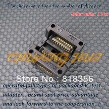 SOP20 SOIC20 OTS-20-1.27-01 IC Test & Burn-in Socket Programmer Adapter  5.4mm Width 1.27mm Pitch
