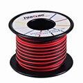 Cable de 16 awg, cable de silicona de 66 pies suave y alambre de cobre resistencia a altas temperaturas 2 cables separados 33 pies negro y 33 pies rojo