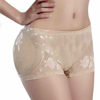 fed0763a Sexy mujer LingerieSoft cadera acolchado trasero potenciador talladora bragas  sin costura ropa interior suave