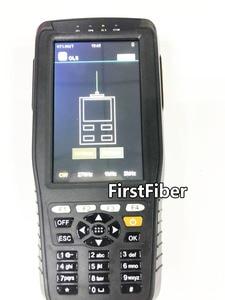 Image 5 - Hoge Precisie OTDR Tester Optical Time Domain Reflectometer 4 in 1 OPM OLS VFL Touch Screen 3m tot 60km Bereik Optische Instrument
