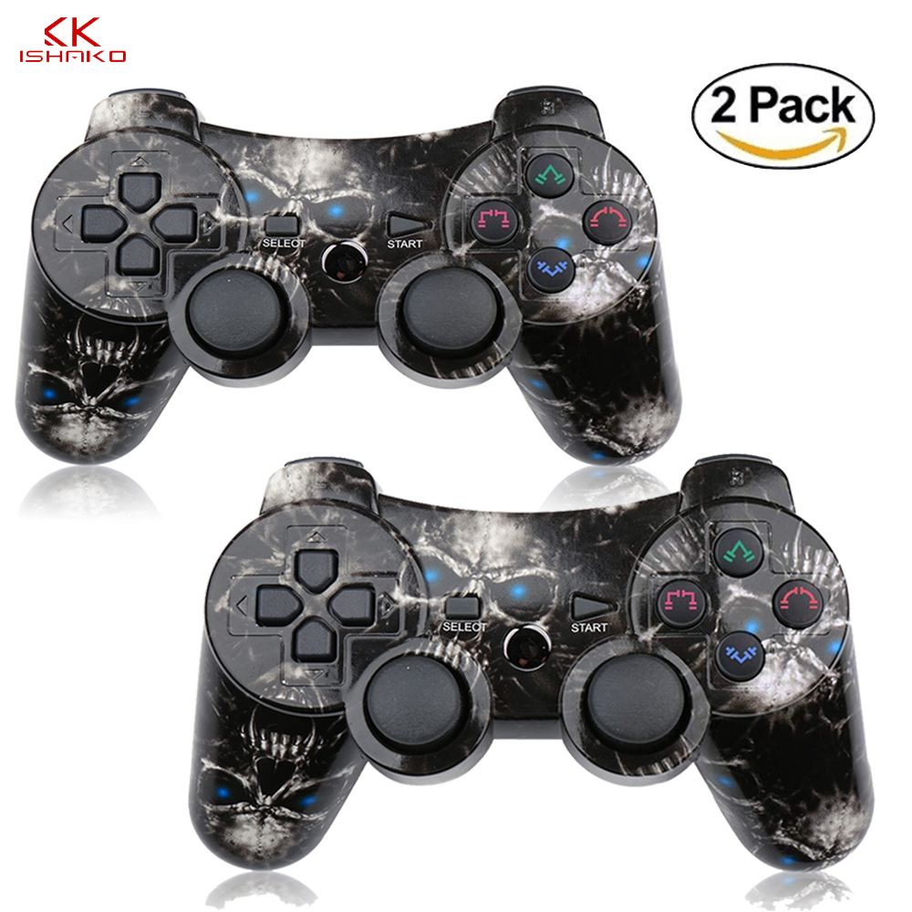 Wireless Double Shock Gamepad for Playstation 3 Remote Sixaxis for PS3 Controller dualshock pubg gamepadWireless Double Shock Gamepad for Playstation 3 Remote Sixaxis for PS3 Controller dualshock pubg gamepad