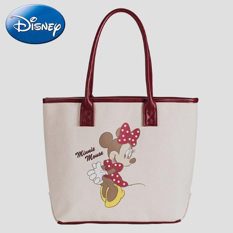 Disney Famous Brand Women Bags 2019 Fashion Ladies Shoulder-MessengerBag Purse Hand-bags Large Shopping Travel Crossbody-Bags