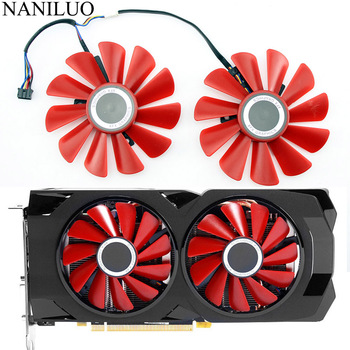 85MM Diameter RX-570-RS RX-580-RS FD10U12S9-C  For XFX RX570 RS RX580 Video Graphics Cards Cooling As Replacement Fan