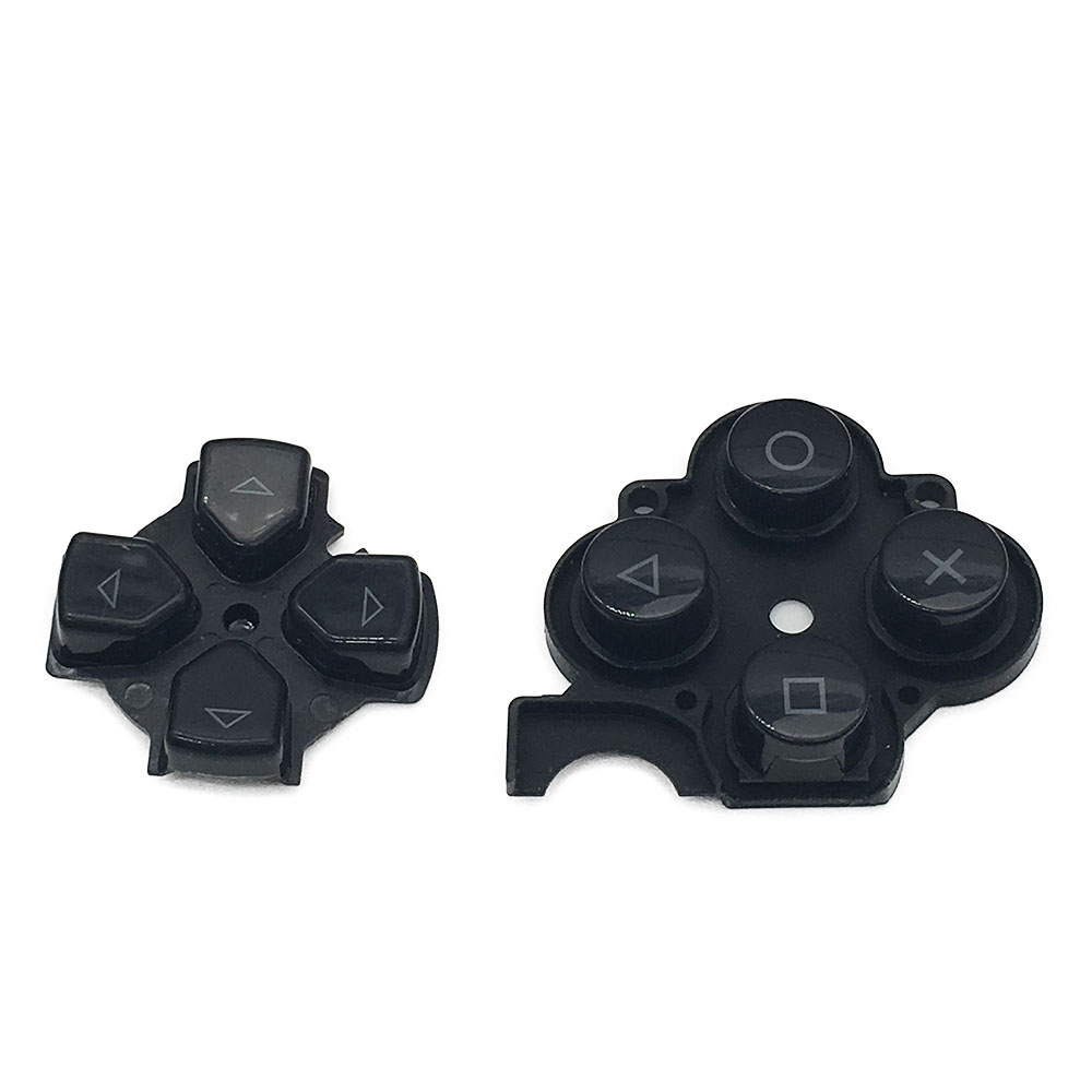 Used Black Buttons Right Button Repair Replacement for Sony PSP 3000 Left D Pad Buttons цена 2017