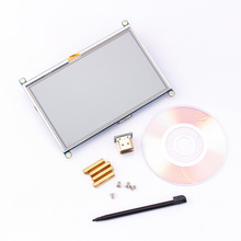 1Pc 800*480 5Inch Hdmi Touch Screen Display Tft Lcd scherm Module Universeel Voor Alle Raspberry Pi display 800X480 Hdmi Monitor