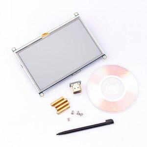 Image 1 - 1pc 800*480 5 인치 HDMI 터치 스크린 디스플레이 TFT LCD 패널 모듈 범용 모든 라즈베리 파이 디스플레이 800x480 HDMI 모니터