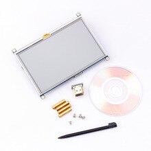 1pc 800*480 5 pouces HDMI écran tactile affichage TFT LCD panneau Module universel pour tous les framboise Pi affichage 800x480 HDMI moniteur