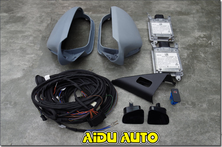 FOR AUDI A6 C7 PA 4G LANE CHANGE SIDE ASSIST SYSTEM SET SWA UPDATE KIT wiper blades for audi a6 c7 4g 26