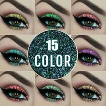 NICEFACE Single Glitter 15 Color Flash Diamond Eyeshadow Shimmer Eye Shadow MH88