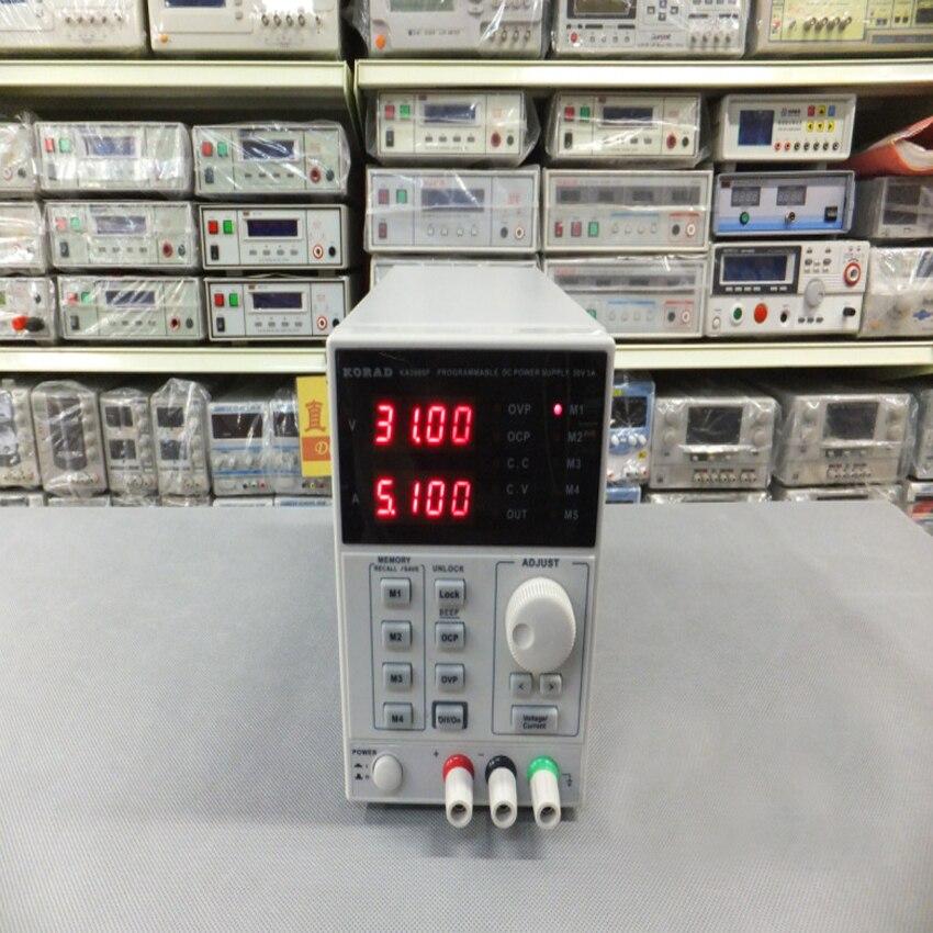 KA3005P-30 V 5A DC alimentation linéaire Programmable précision réglable numérique qualité de laboratoire régulée