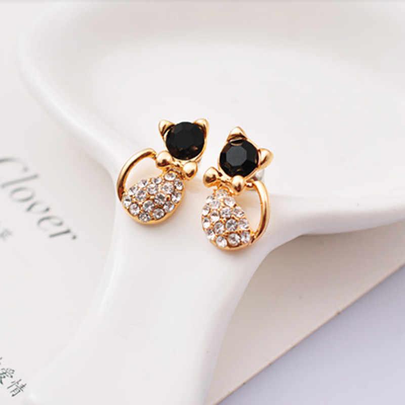 2018 new fashion woman punk rock retro flower leaves earrings Courtship earrings apple bow Cherry earrings female free shipping