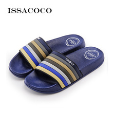 ISSACOCO 2019 Men Slippers Sandals Shower Pool Beach Summer Shoes Beach Slippers Men Shoes Casual Shoes Pantuflas Terlik Chinelo slippers women 2017 summer shoes terlik gladiator woman solid slides beach shoes chinelo mujer zapatos pantufas
