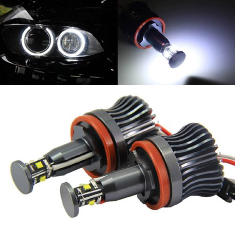 New 2 Pcs 20W Car Angel Eyes Ring Marker Bulbs Xenon Light For BMW E60 E61 E90 E92 E70 E71 E82 E89 1/3/5 Series X5 X6 Z4 DXY ahava mud крем насыщенный для ног dermud page 6