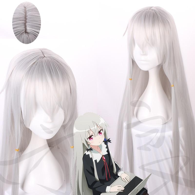 Tonari No Kyuuketsuki-san Sophie Twilight Cosplay Wig Long Straight Hair Ms. Vampire Who Lives In My Neighborhood Role Play