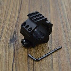 Image 5 - Alonefire md3013 30mm 반지 21mm 레일 위버 picatinny airsoft 소총 총 전술 조명 레이저 시력 범위 사냥 마운트