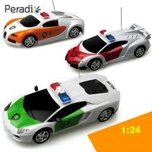 Peradix Induced Control RC Car Toy 1:24 ABS Remote Control RC Vehicle Model RC Racing Gifts