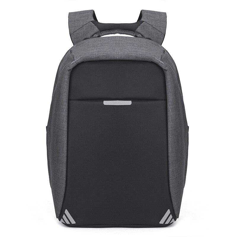 Anti-voleur USB sac à dos sac à dos pour ordinateur portable pour femmes hommes école sac à dos sac pour garçon filles mâle voyage Mochila Oxford Notebook - 2